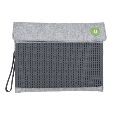 Kreative Pixel Tablethülle Pixelbags grau-schwarz B010
