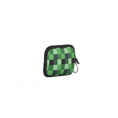Kreatives Pixel Universaltäschchen PIXIE CREW grüne Würfel PXA-08-04