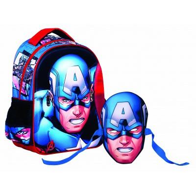 Kleiner Rucksack Avengers Captain America B0052-6