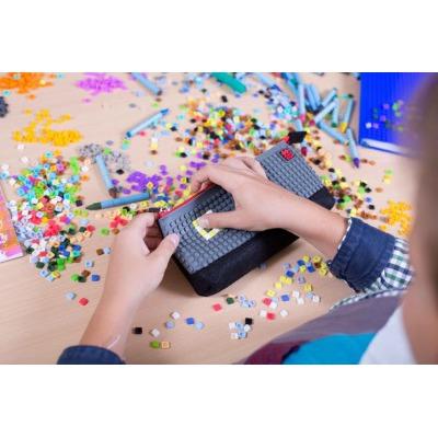 Kreative Pixel Federmappe grau/schwarz PXA-01-L23