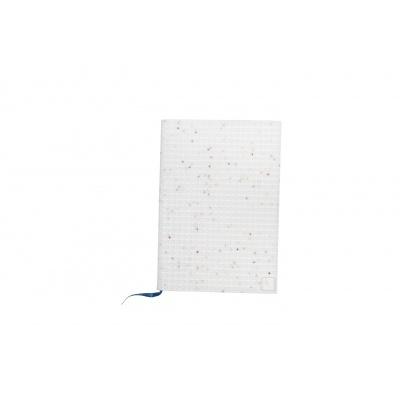 Kreatives Pixel Notizbuch im Umschlag weißer Stern PXN-01-G22
