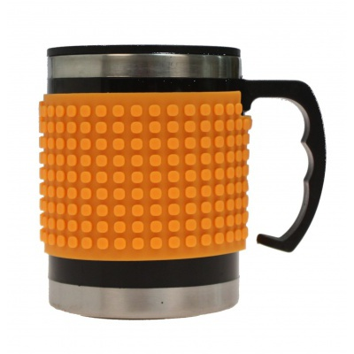 Kreative Pixel Thermotasse neon orange PXN-02-03