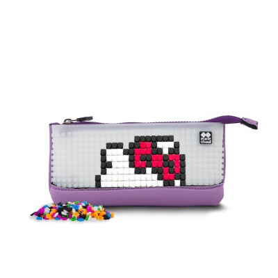 Kreative Pixel Schulfedermappe Hello Kitty lila PXA-02-89