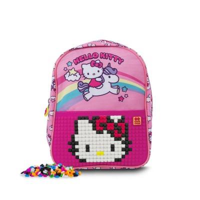 Kreativer Pixel Kinderrucksack Hello Kitty - Einhorn PXB-24-88