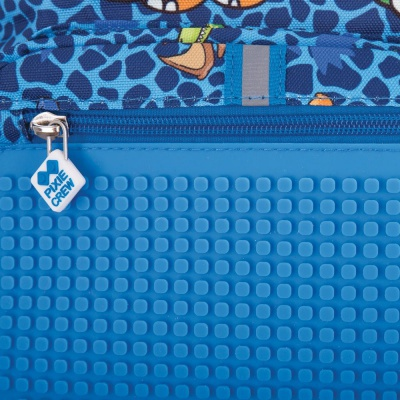 Kreativer Pixel Kinderrucksack Dino PXB-18-90 mit einem GRATIS Armband