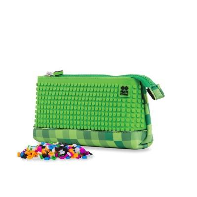 Kreative Pixel Federmappe grün/grün PXA-02-D07