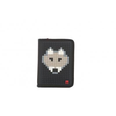 Kreative Pixel Federmappe schwarz PXA-03-L24