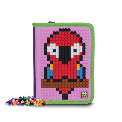 Kreative Pixel Federmappe lila/rosa PXA-03-F17
