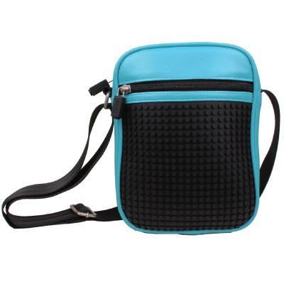 Kreative Pixel Umhängetasche Pixelbags A018 in blau